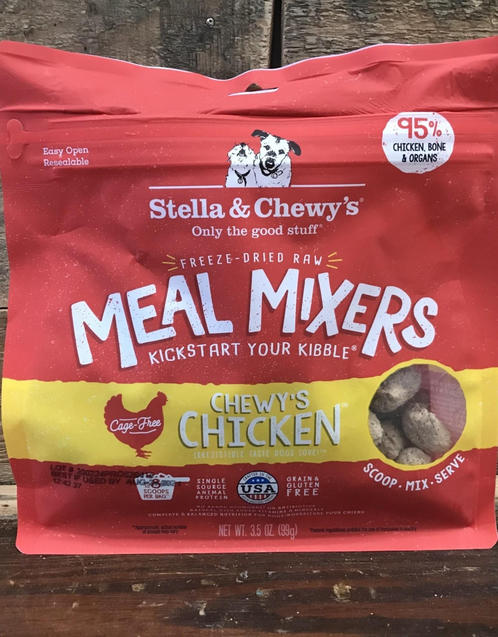 Stella & Chewys FD 3.2 oz Chicken Meal Mixer dog