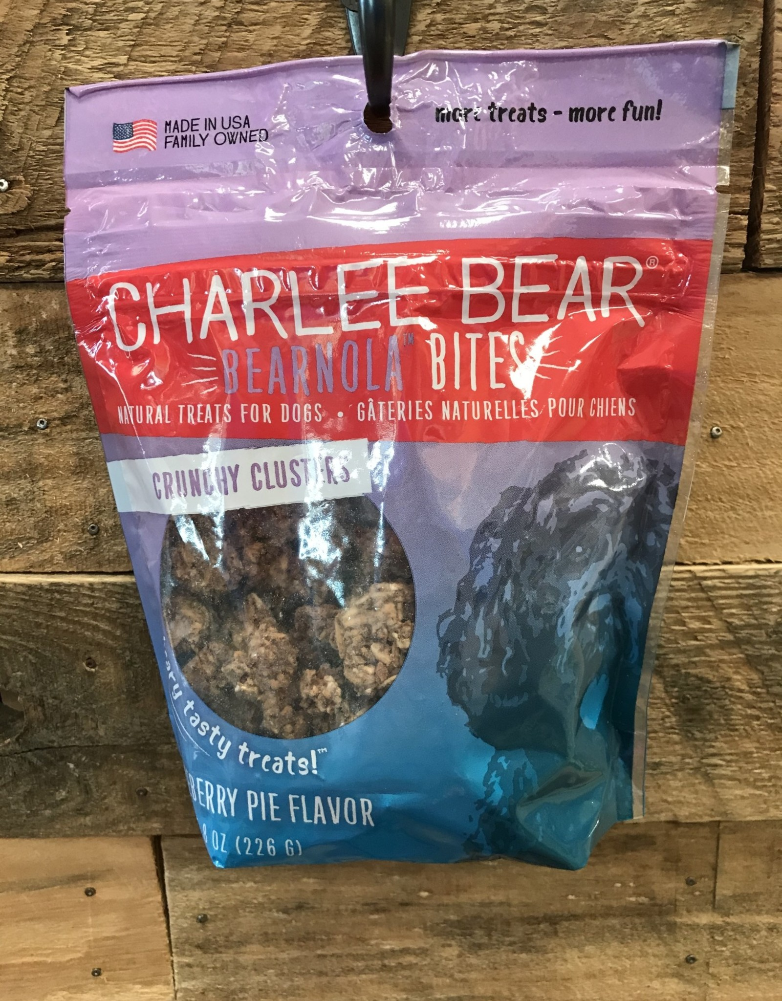 Charlie Bear Farms Charlee Bear Bearnola Blueberry Honey 8oz