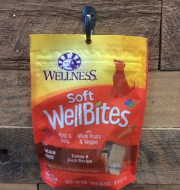 Wellness Wellness wellbites turkey/duck Dog 6oz
