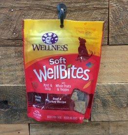 Wellness Wellness wellbites beef/turkey dog 6oz