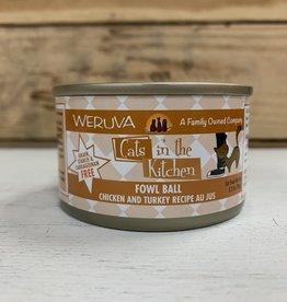Weruva Weruva Cat in the Kitchen Fowl Ball 3.2oz