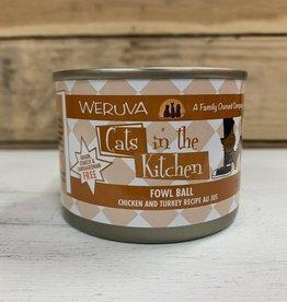 Weruva Weruva Cat in the Kitchen Fowl Ball 6oz