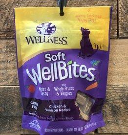 Wellness Wellness wellbites chicken/venison dog 6oz
