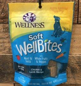 Wellness Wellness wellbites chicken/Lamb dog 6oz