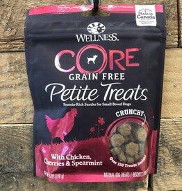 Wellness Wellness Grain Free Petite Treats Mini Chicken, Cherries & Spearmint 6 Oz