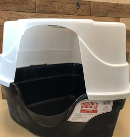 Natures Miracle 26X23X20 HOODED CORNER LITTER BOX