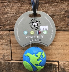 Outward Hound - Planet dog Planet dog Orbee sm ball blue/green Made in USA