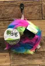 GO DOG FURBALLZ RINGS - RAINBOW MED.