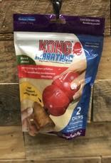 Kong MARATHON 2-PACK DOG TREAT - CHICKEN RECIPE SM.