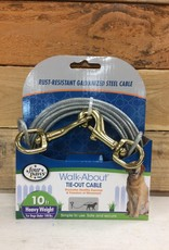 FOUR PAWS Silver 10 FT Heavy WEIGHT TIE OUT