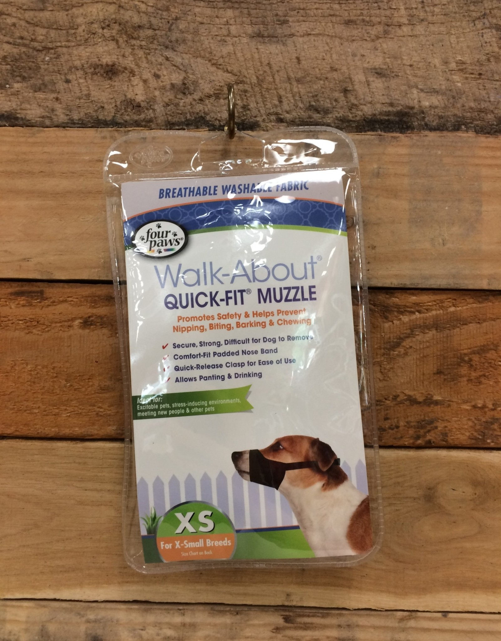 Four Paws Quick Fit Muzzle Size EXSmall