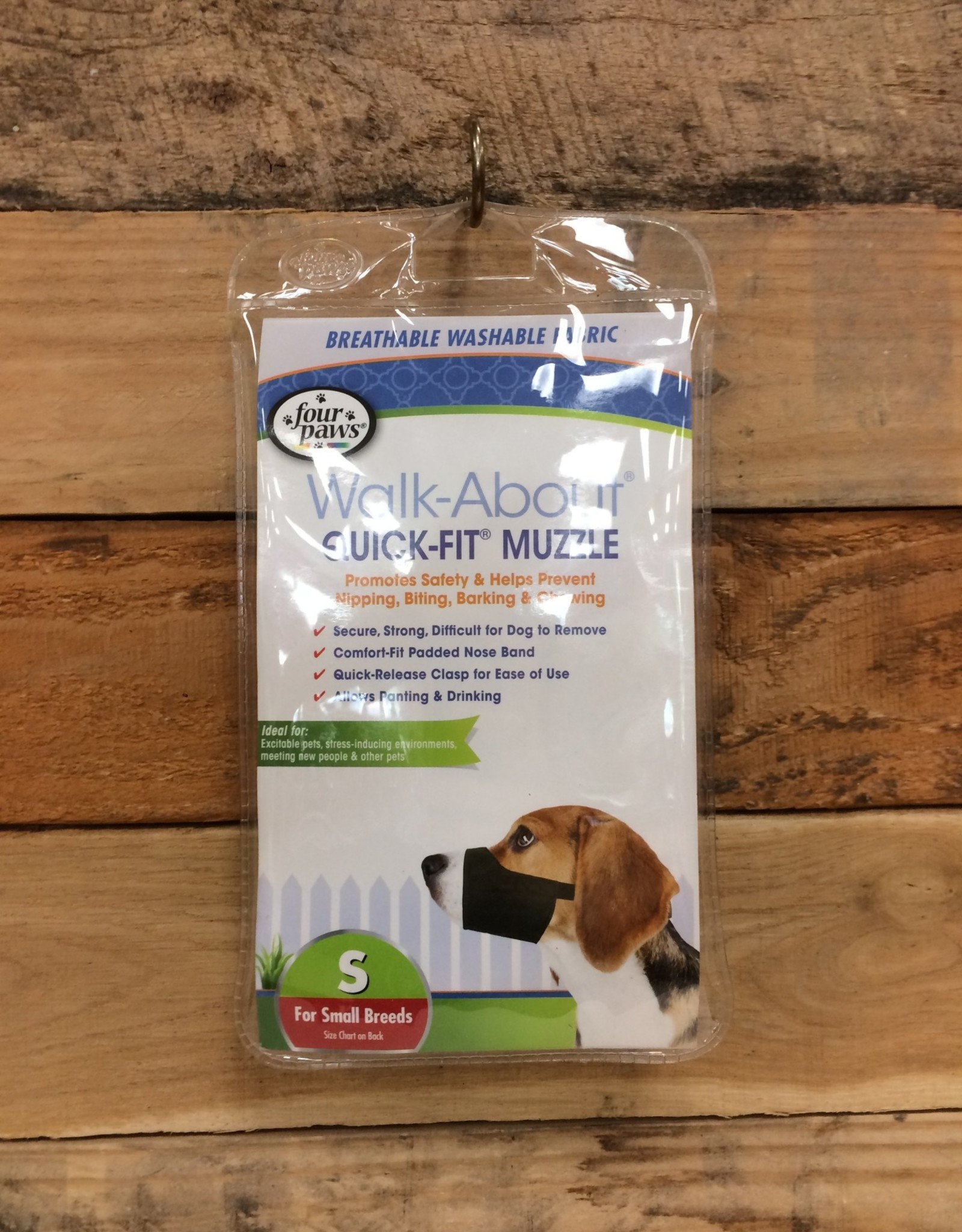 FOUR PAWS SIZE SMALL QUICK FIT MUZZLE