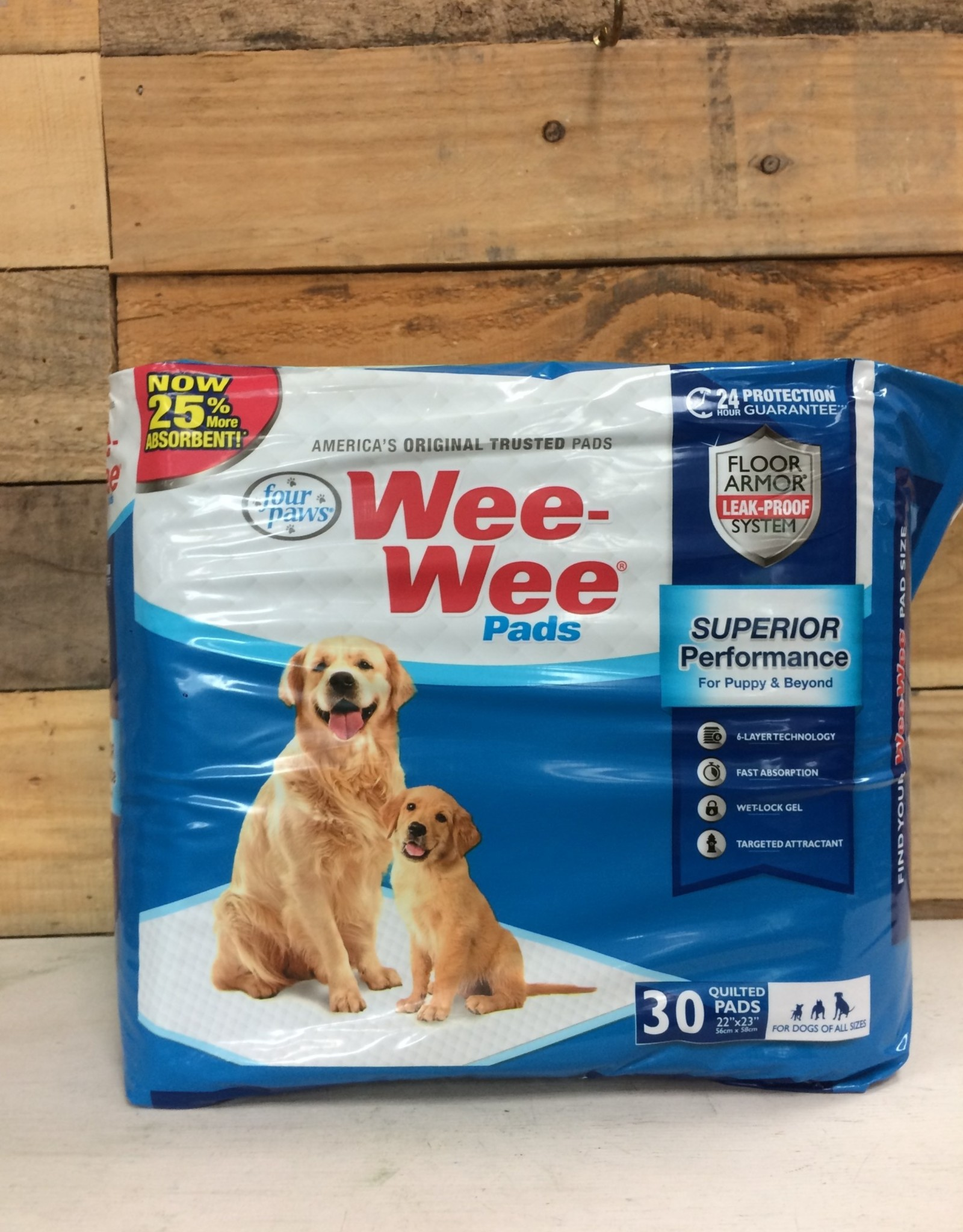 Four paws wee wee pads 30ct
