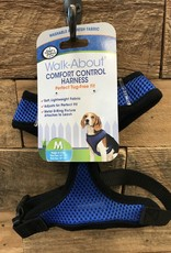 FOUR PAWS MED. BLUE COMFORT CONTROL HARNESS