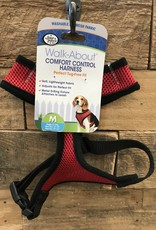 Four Paws MED. RED COMFORT CONTROL HARNESS