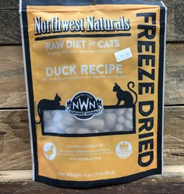 Northwest natural CAT Freeze dried Duck 4 OZ