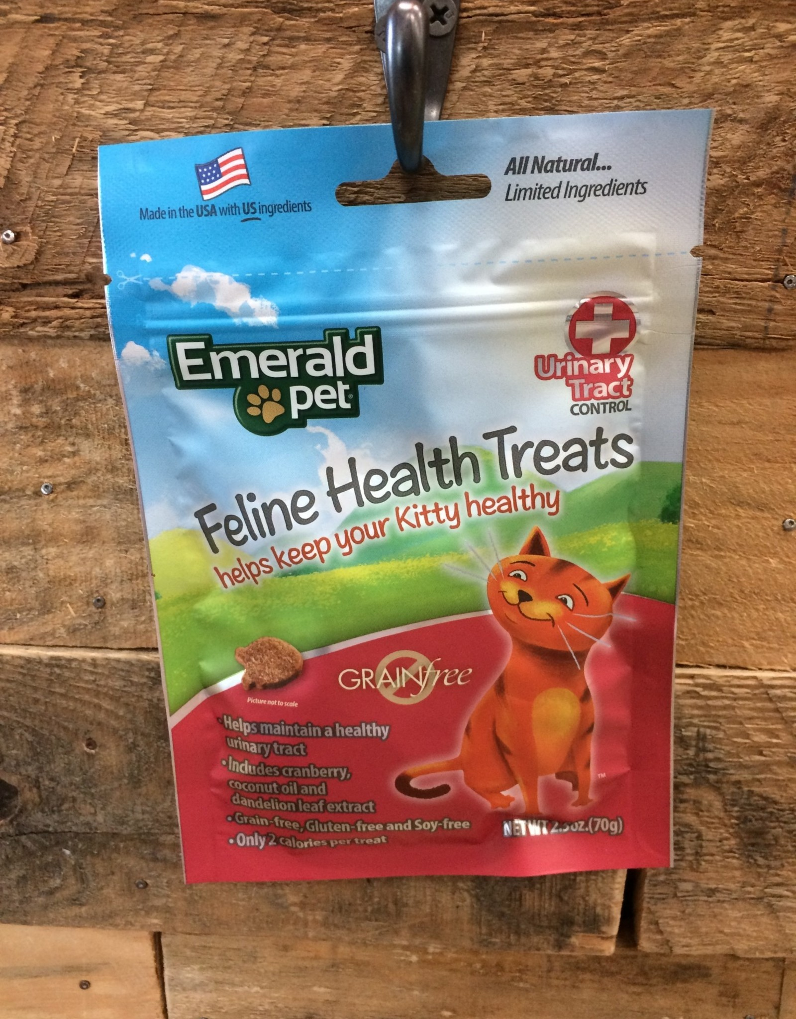 Emerald Pet Urinary Tract Formula Cat Treat - Chicken 2.5oz.
