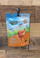 EMERALD PET 3 OZ. DENTAL CAT TREAT - CHICKEN