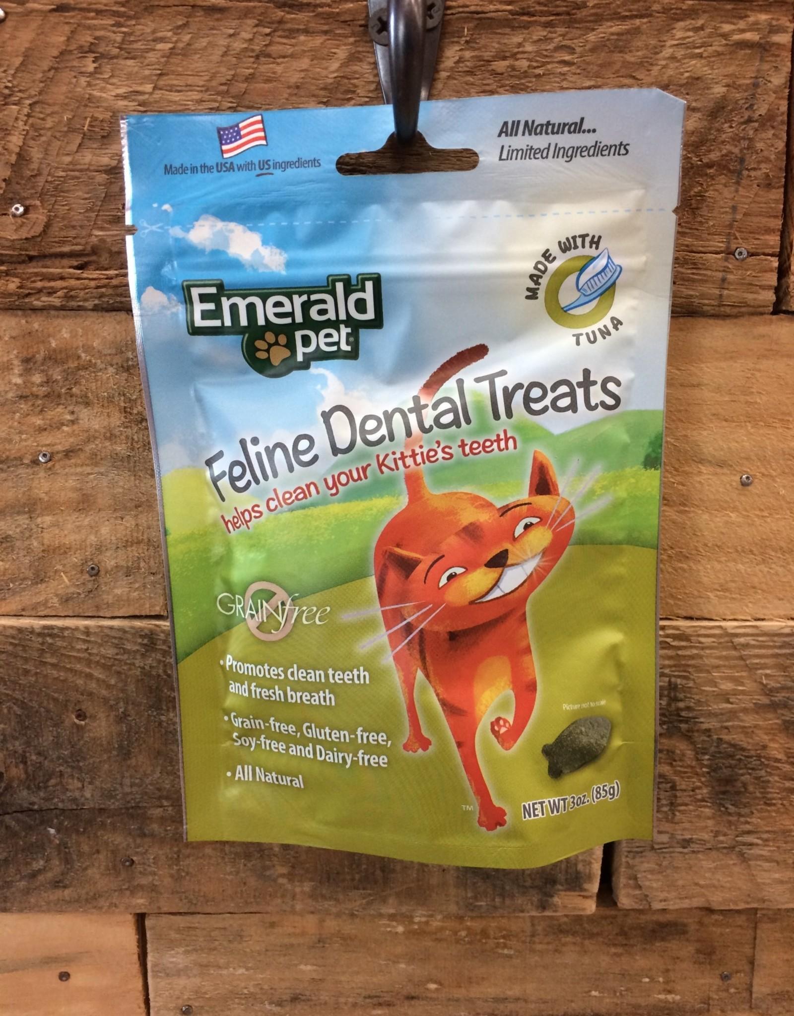Emerald Pet Dental Cat Treat - Tuna 3oz.