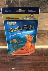Emerald Pet 3oz Wholly Fish Salmon Plus Digestive Health