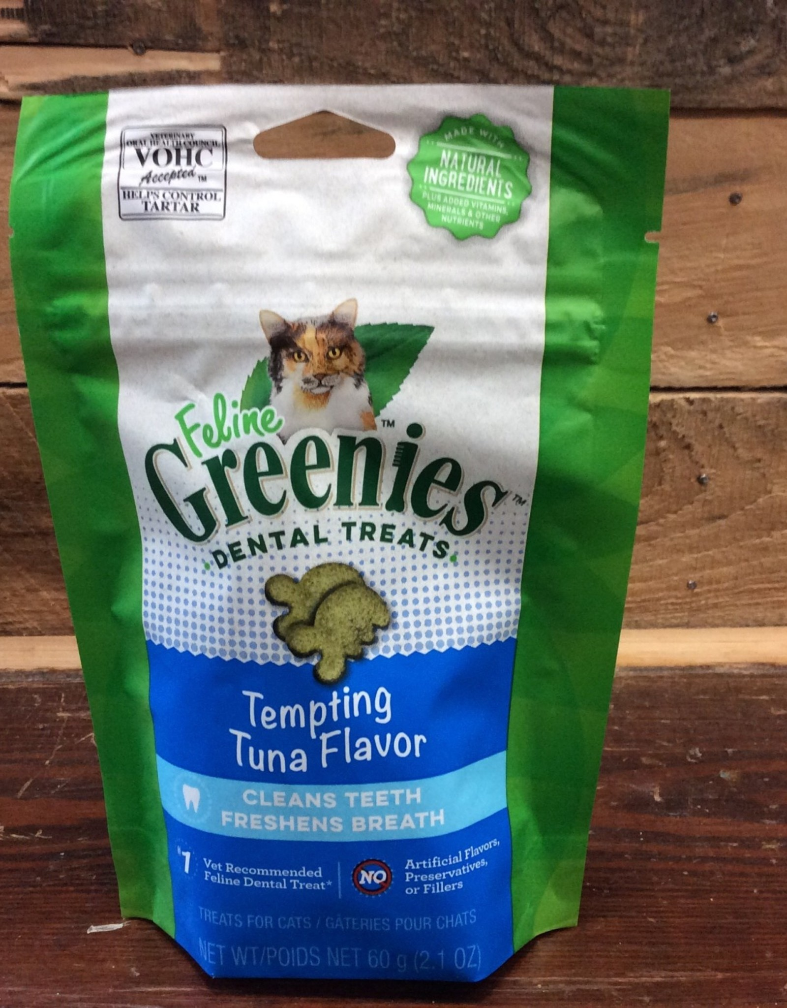 GREENIES Feline dental treat 2.1 oz tempting tuna
