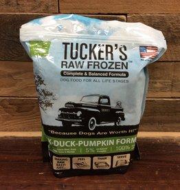 Tuckers Tuckers 3# Pork Duck & pumpkin frozen dog food