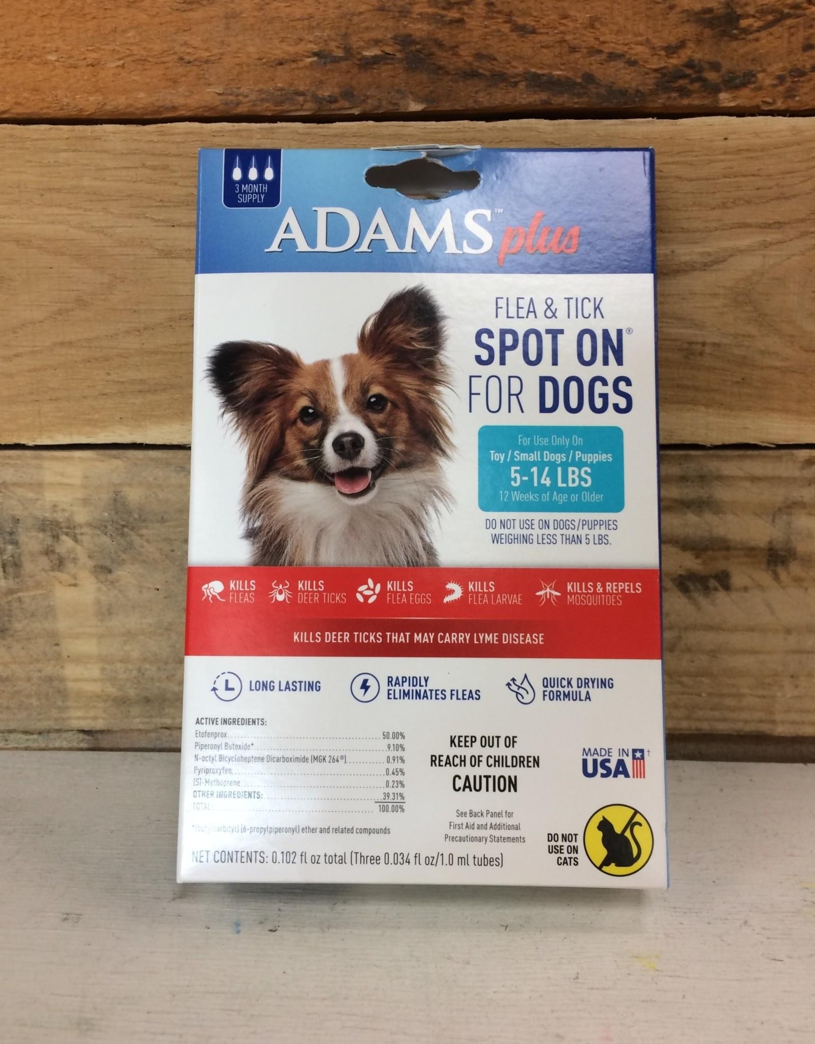 Central Life Sciences- Adams Adams Plus Flea & Tick Collar for Small Dogs