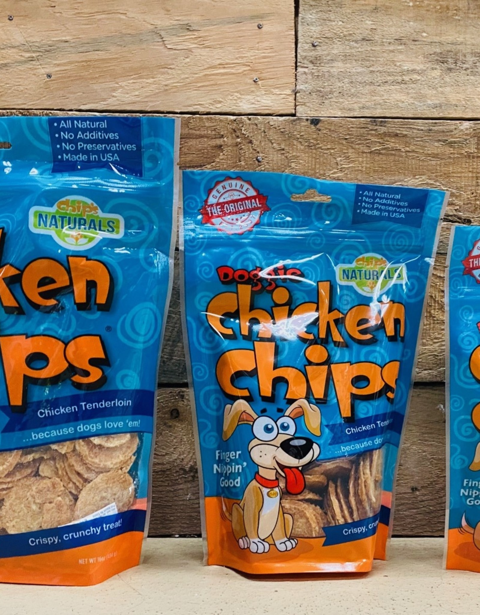 Chicken Chips Doggie chicken chips 16oz
