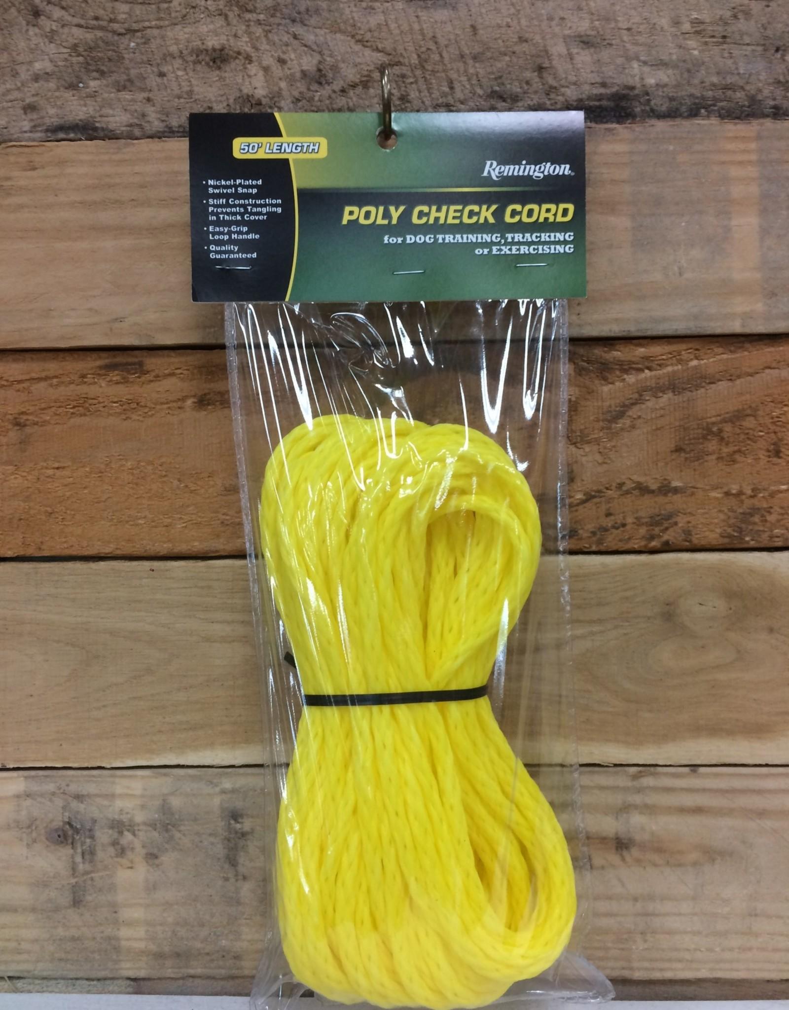 Coastal Pet Products Coastal remington poly check cord 50 ft