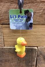 """Coastal Pet Products Coastal Li'l Pals 2.5"""" Latex duck"""
