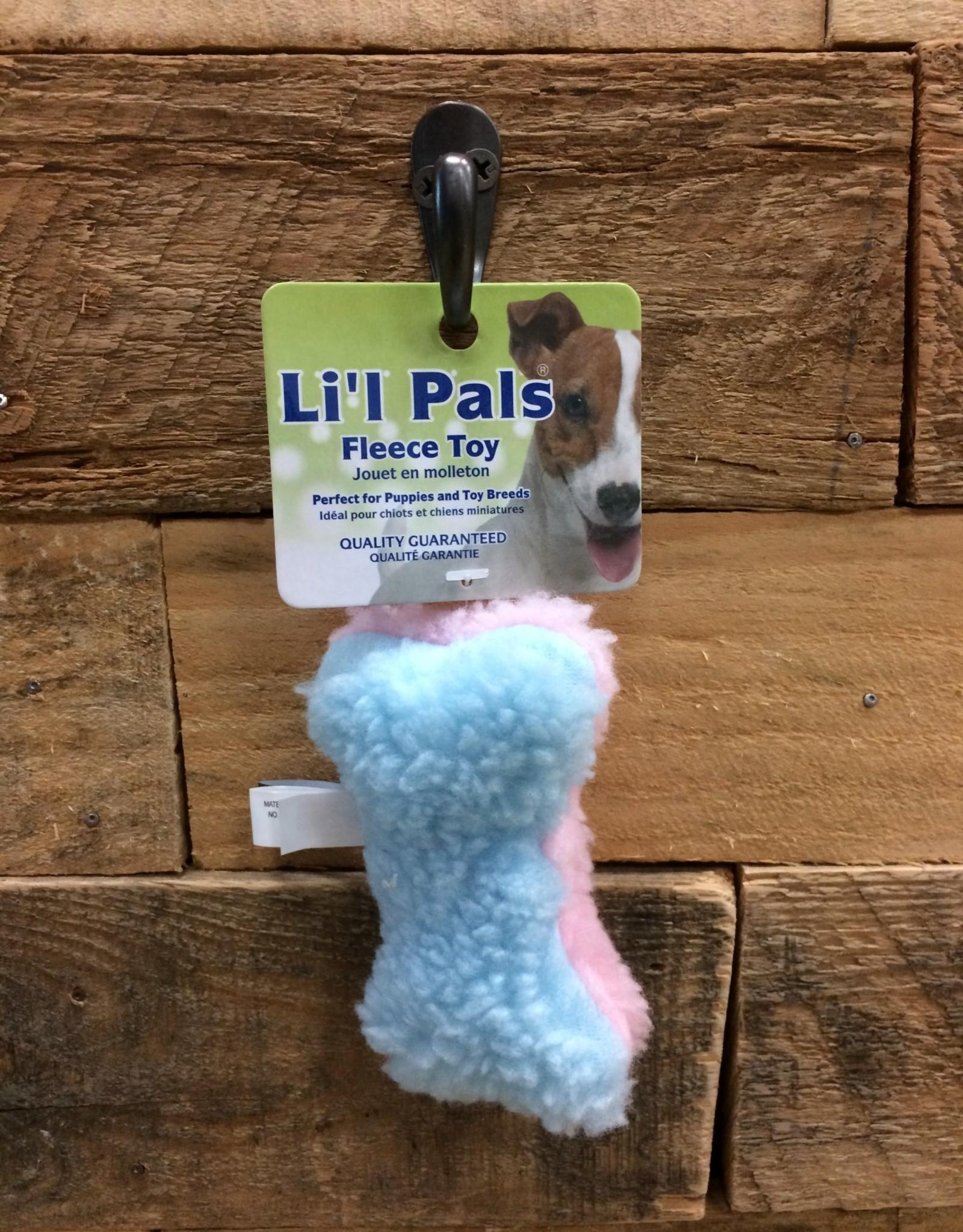 """Coastal Pet Products Coastal Li'l Pals 4.5"""" fleece bone"""