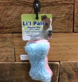 "Coastal Pet Products Coastal Li'l Pals 4.5"" fleece bone"