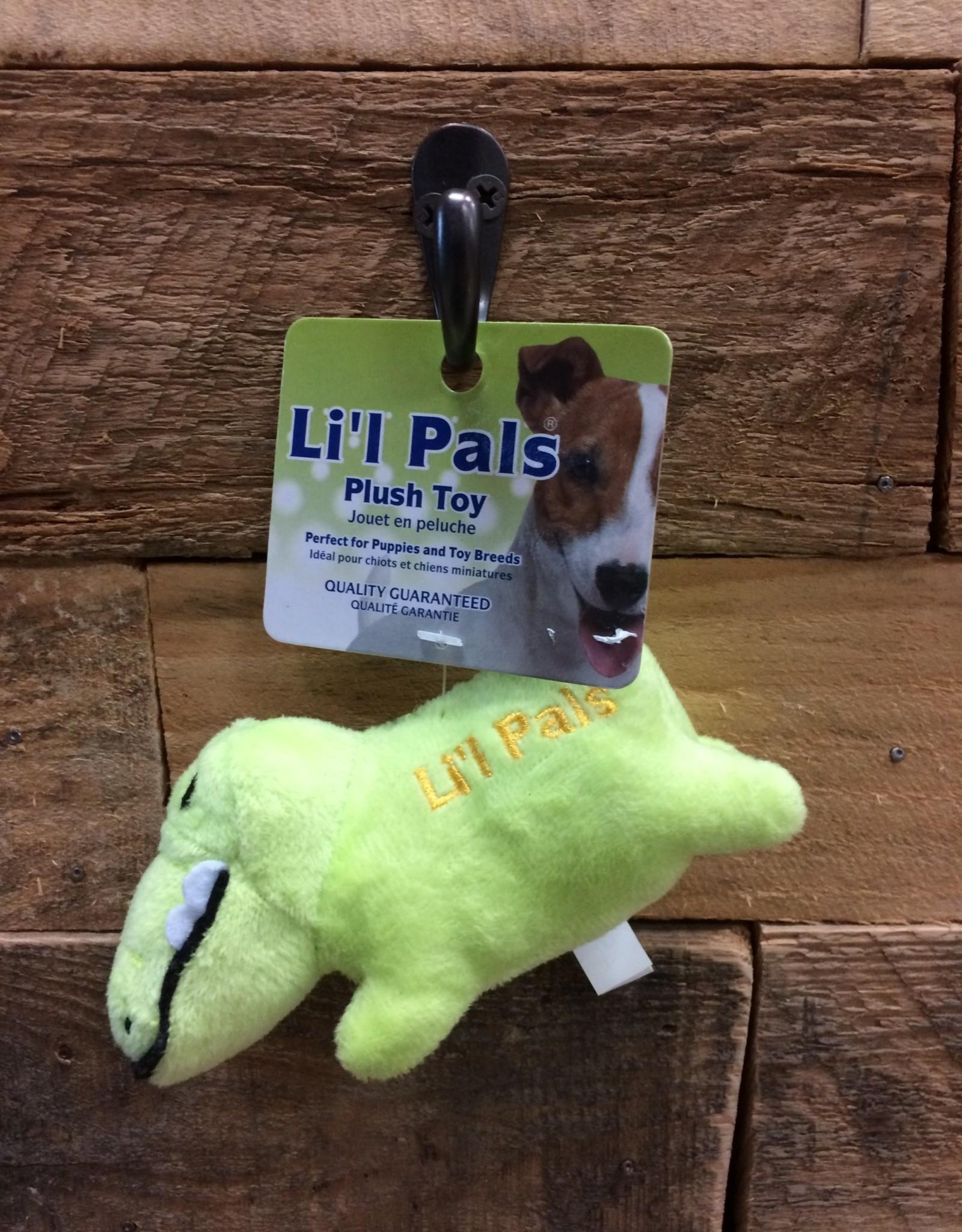"""Coastal Pet Products Coastal Li'l Pals Soft Plush Gator 4.5"""""""