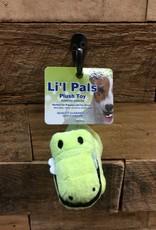 """Coastal Pet Products Coastal Li'l Pals 4.5"""" Soft plush Gator"""