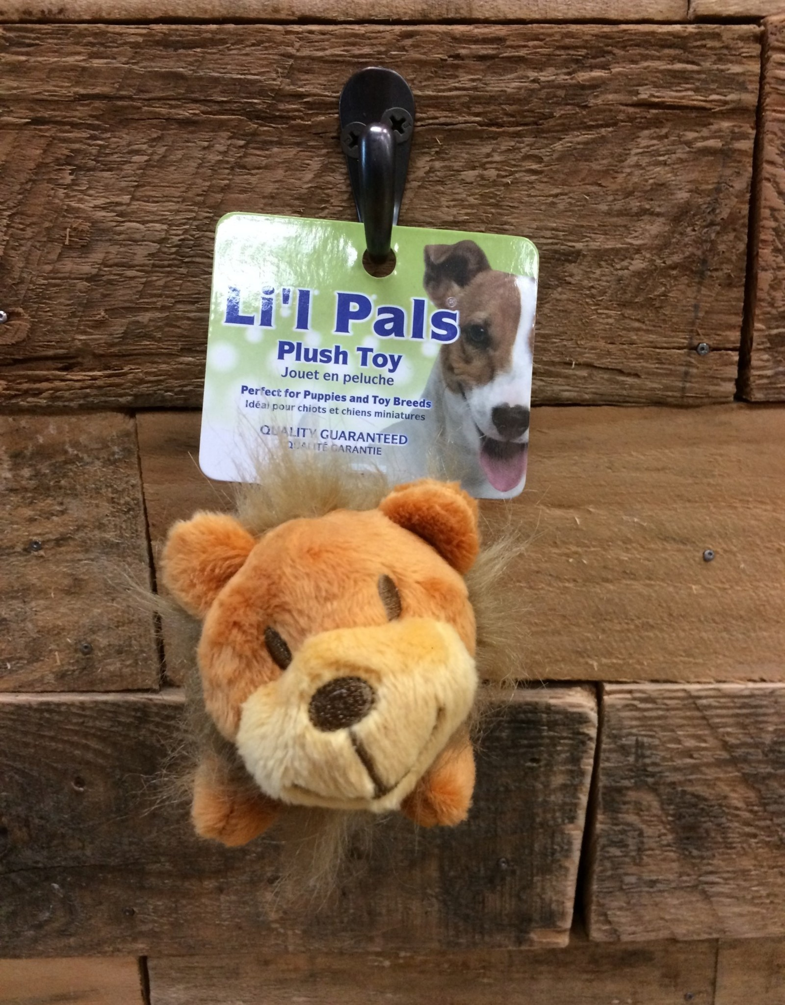 "Coastal Pet Products Coastal Li'l Pals 4.5"" Soft plush Lion"