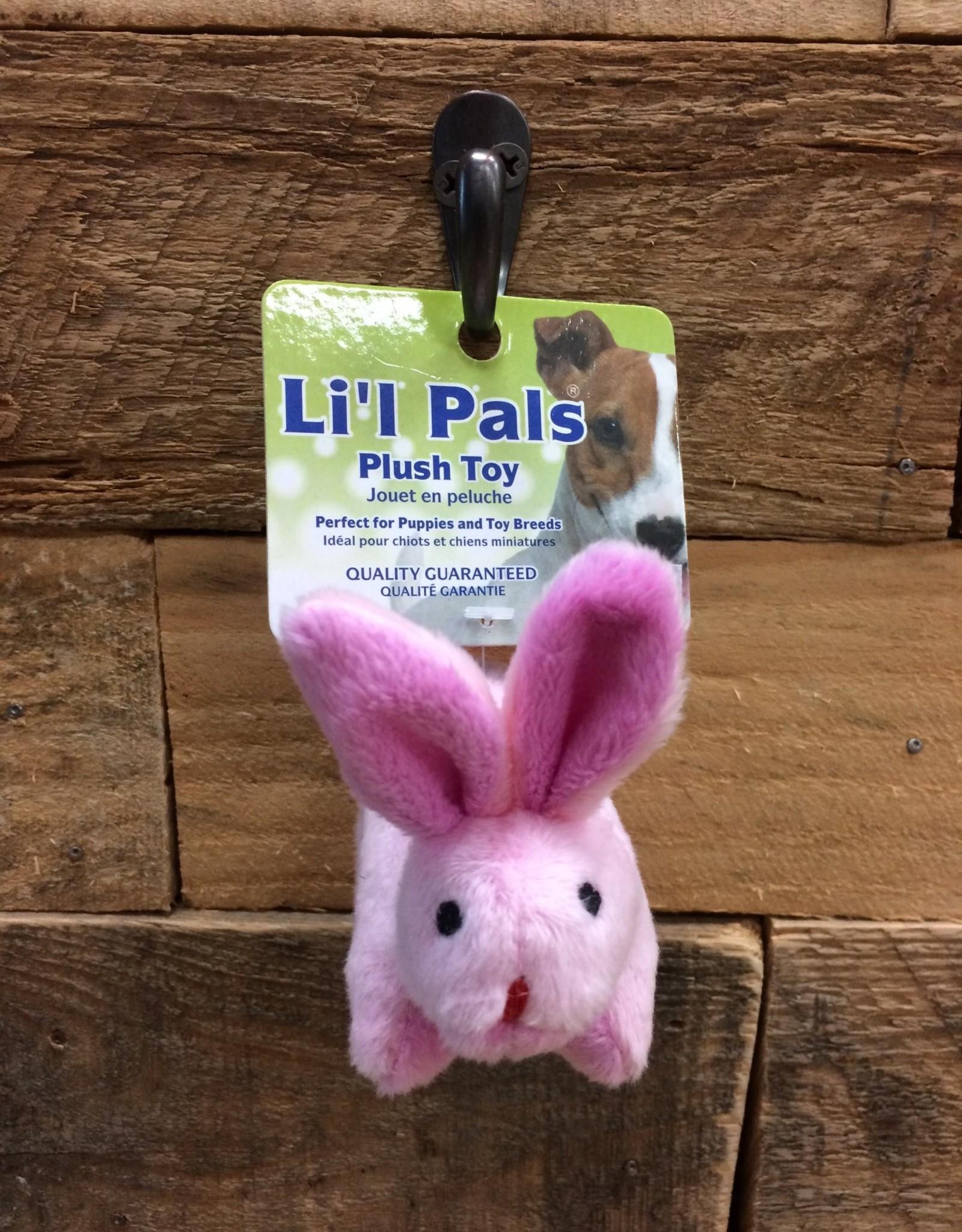 """Coastal Pet Products Coastal Li'l Pals 4.5"""" Soft plush Rabbit"""