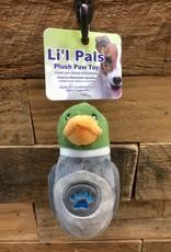 """Coastal Pet Products Coastal Li'l Pals Soft Plush Paw Duck 5"""""""