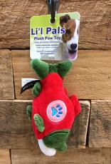 "Coastal Pet Products Coastal Li'l Pals 5"" Soft plush paw Salmon"