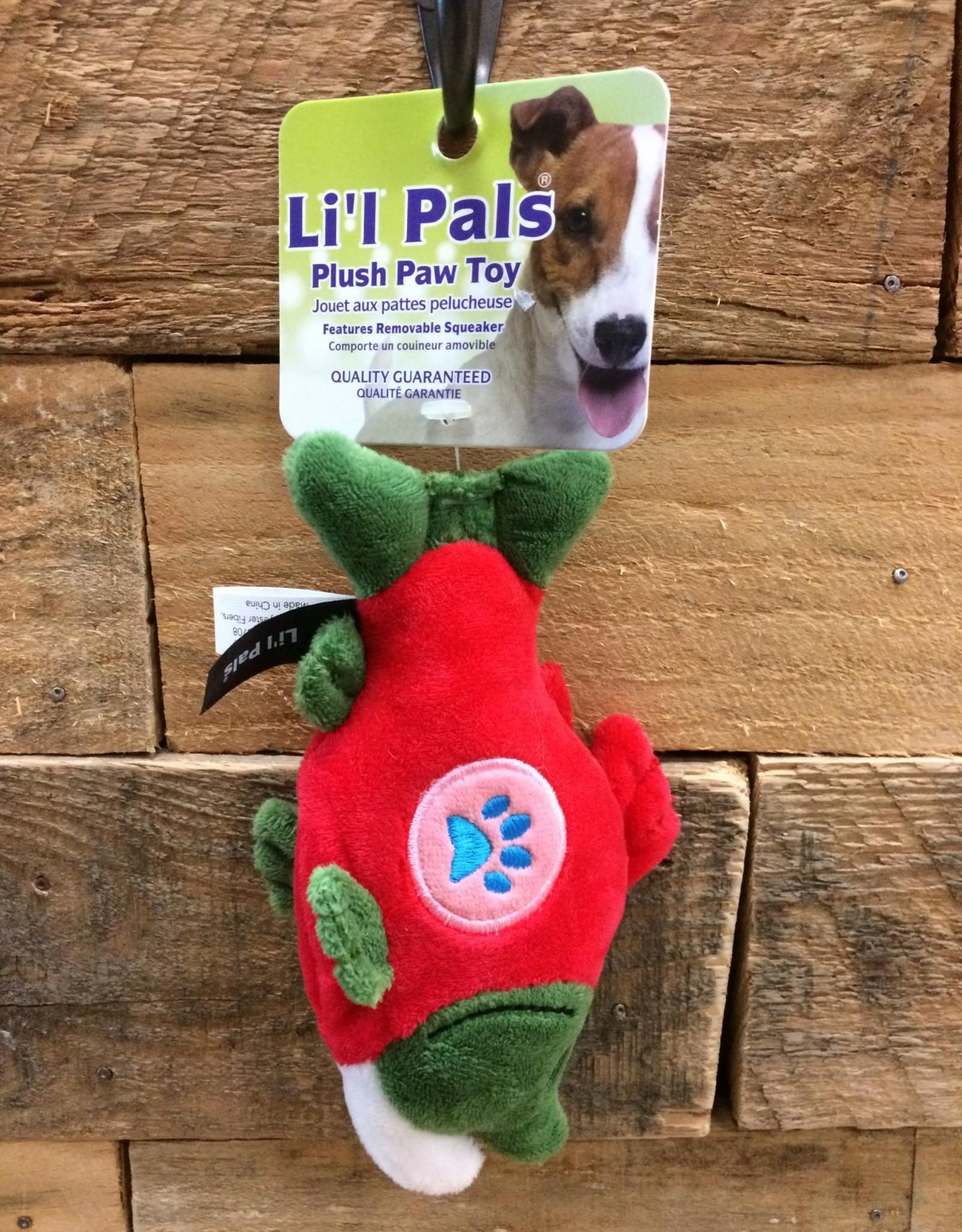 """Coastal Pet Products Coastal Li'l Pals  Soft Plush Paw Salmon 5"""""""