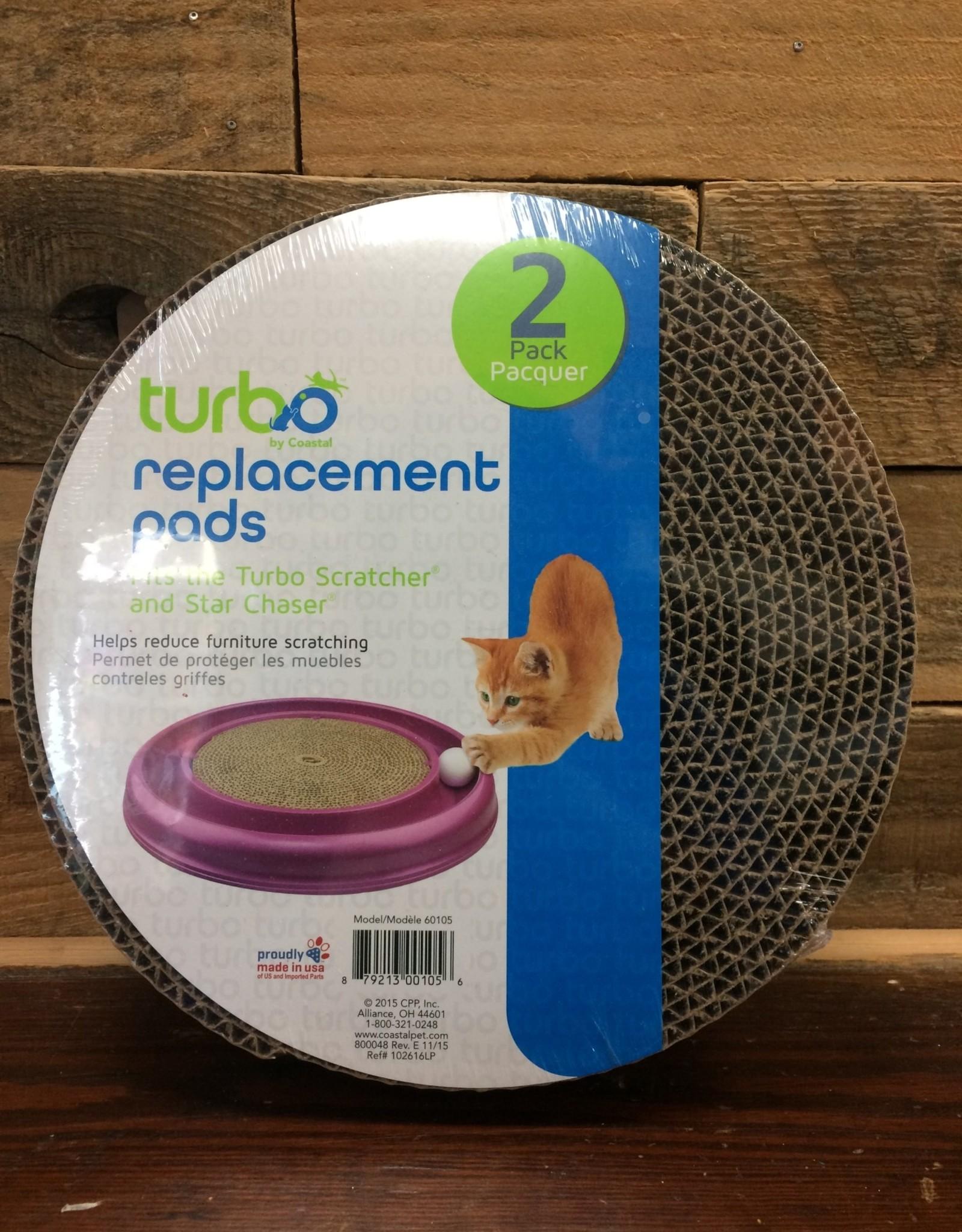 Coastal Pet Products - Bergan Bergan turbo scratcher replacement pad