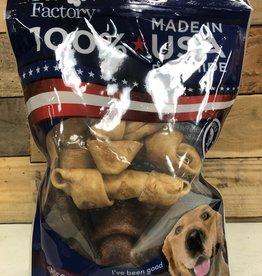 PET FACTORY Pet Factory USA ASST. FLAVORED BONES RESEALABLE BAG 8/4-5 IN.