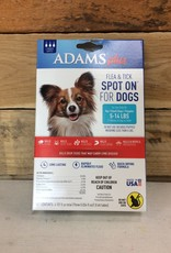 Central Life Sciences- Adams Adams Plus Flea & Tick Spot On Dog Small 3 Month