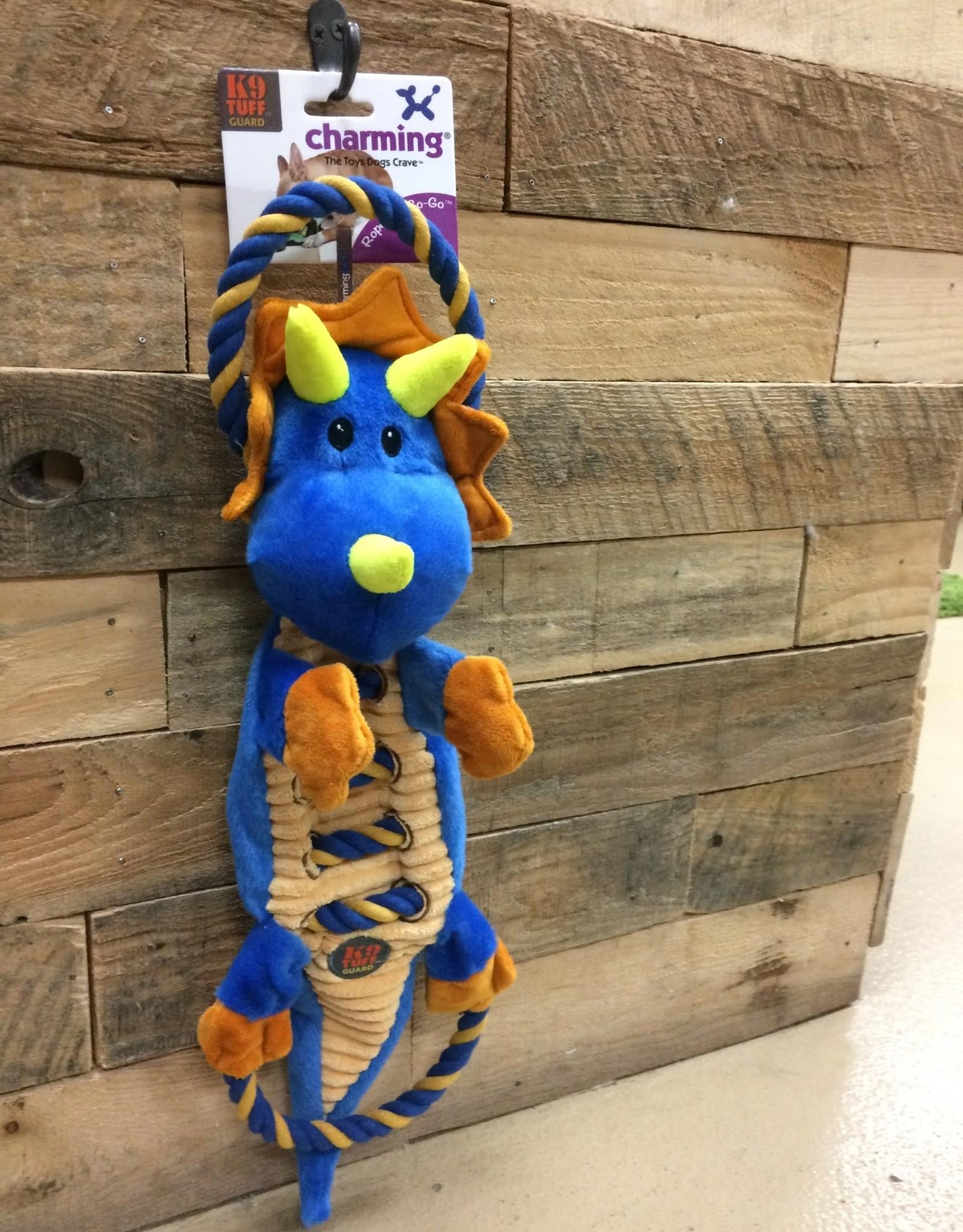 Outward Hound - Charming Pet Charming Pet ROPES-A-GO-GO DRAGON