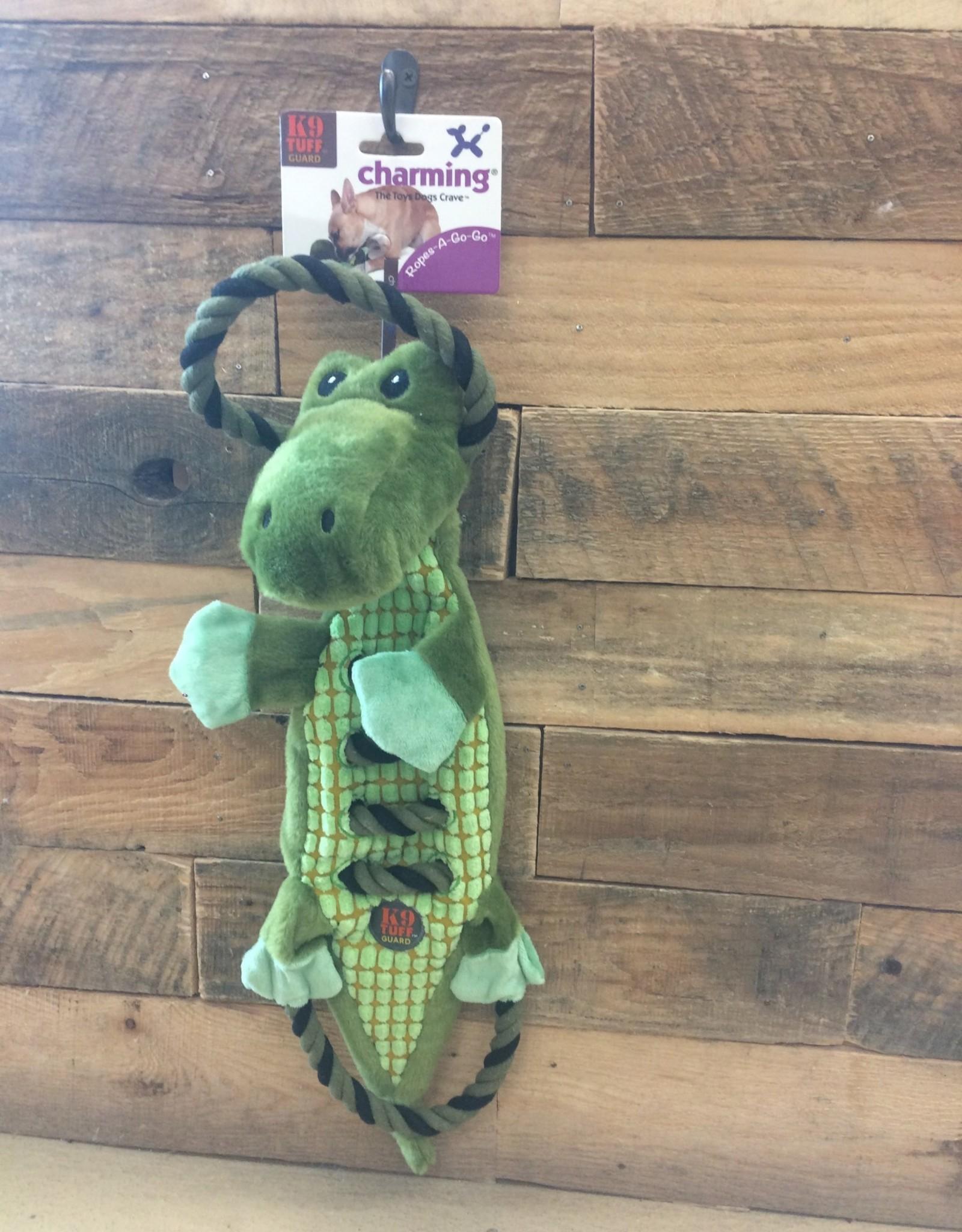 Outward Hound - Charming Pet Charming Pet Ropes-A-Go-Go Gator