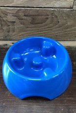 Hagen Dogit Go Slow Anti-Gulping Bowl, Blue, X-Small