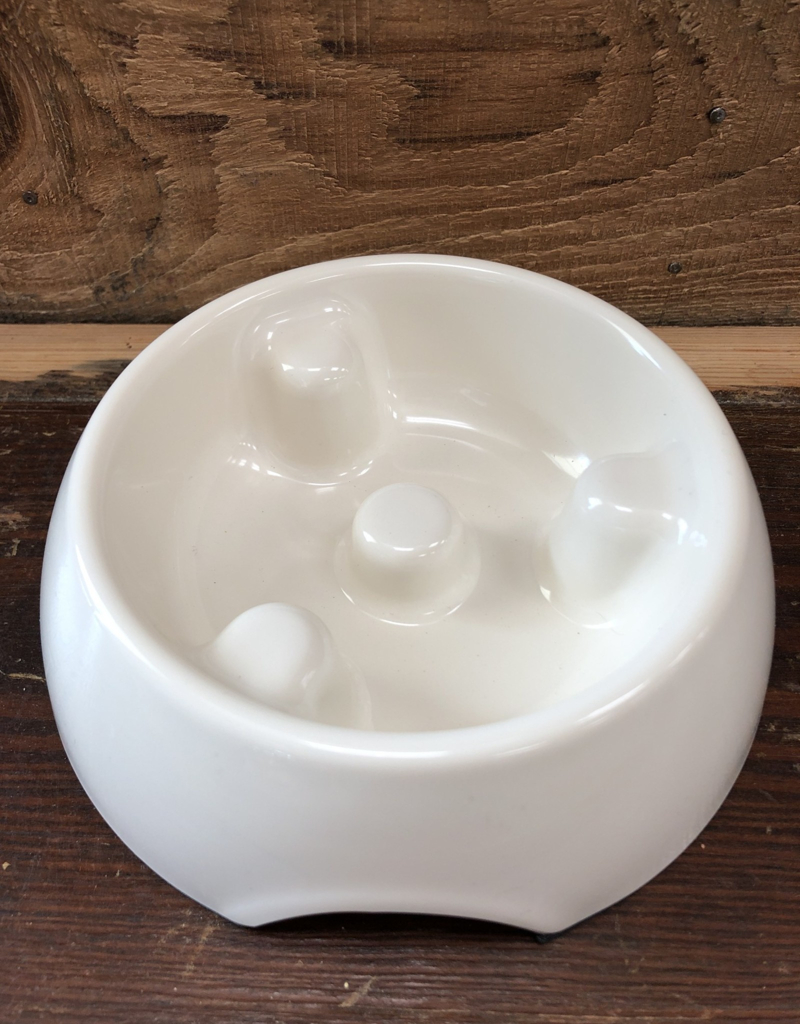 Hagen Dogit Go Slow Anti-Gulping Bowl, White, X-Small