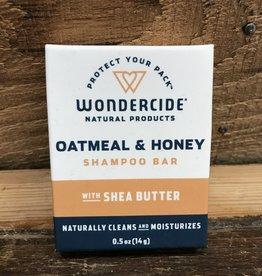 Wondercide Oatmeal & Honey Shampoo Bar .65 oz Trial