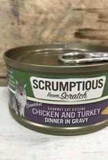 Scrumptious SCRUMPTIOUS CAT CHICKEN & TURKEY GRAVY 2.8OZ