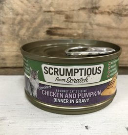 Scrumptious SCRUMPTIOUS CAT CHICKEN & PUMPKIN GRAVY 2.8OZ