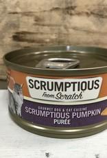 Scrumptious SCRUMPTIOUS DOG CAT PUMPKIN PUREE 2.8OZ